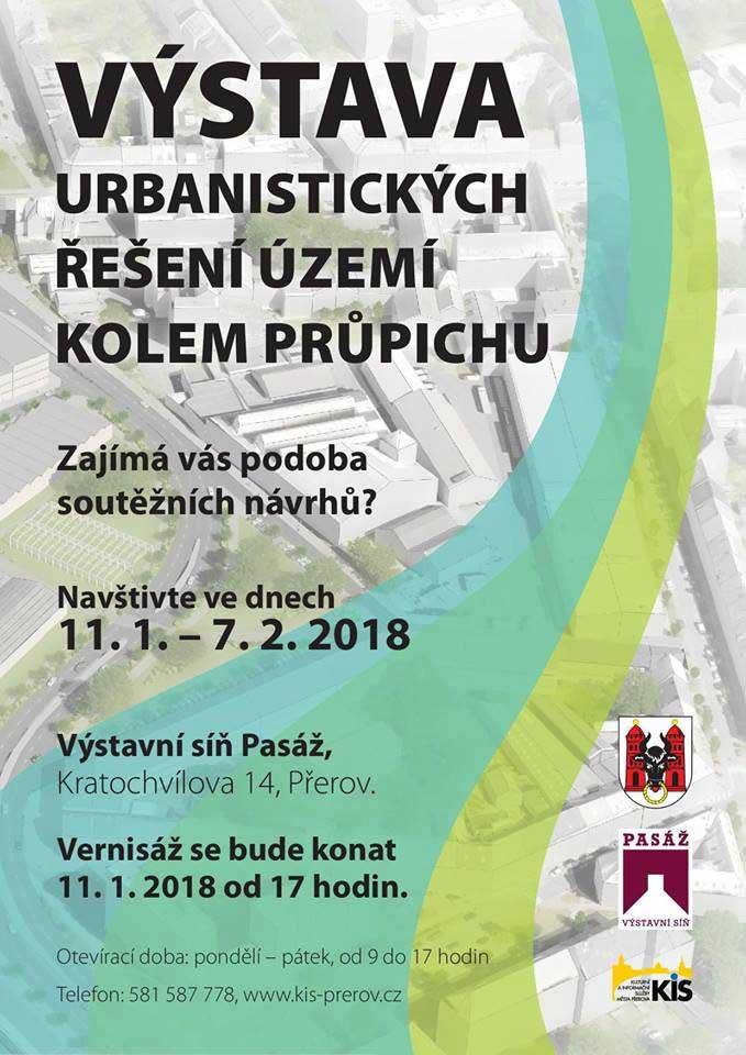 Výstava urbanistických řešení území kolem průpichu