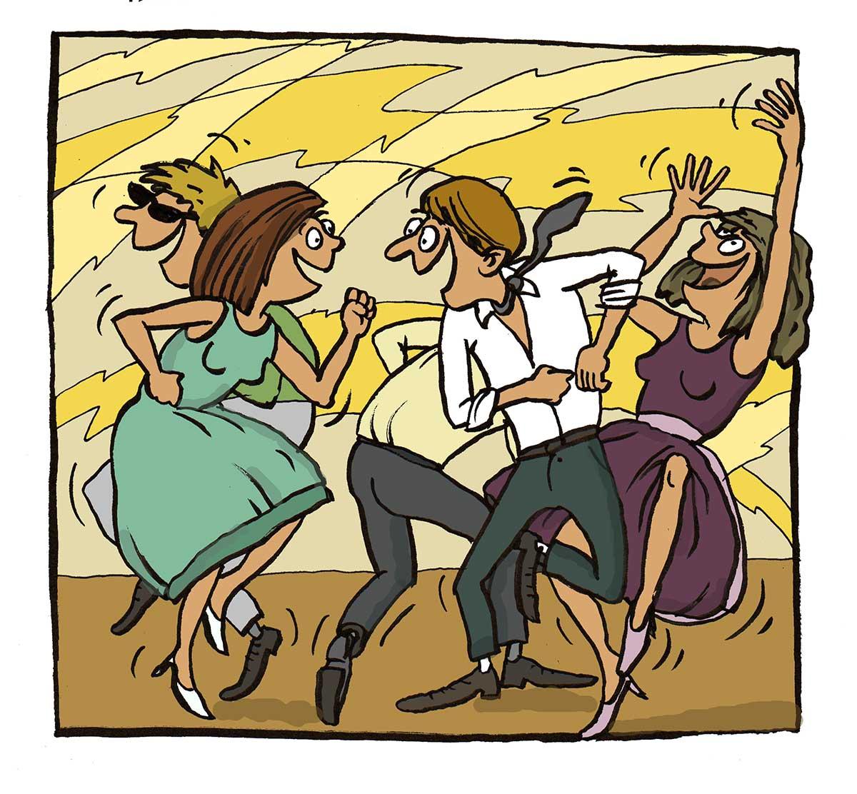 Ples Dlažky