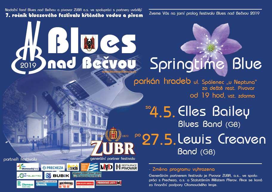 Jarní prolog festivalu Blues nad Bečvou 7 - Springtime Blue