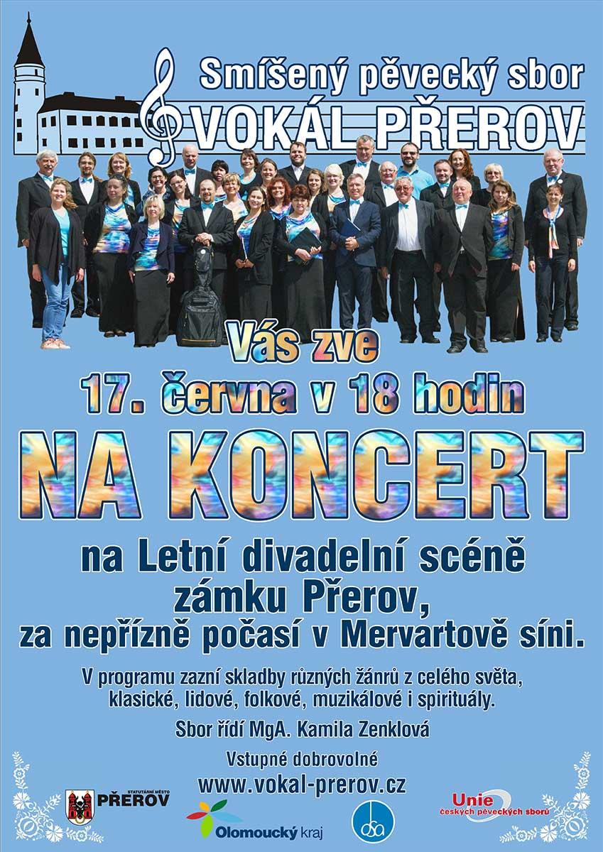 Koncert SPS Vokál Přerov