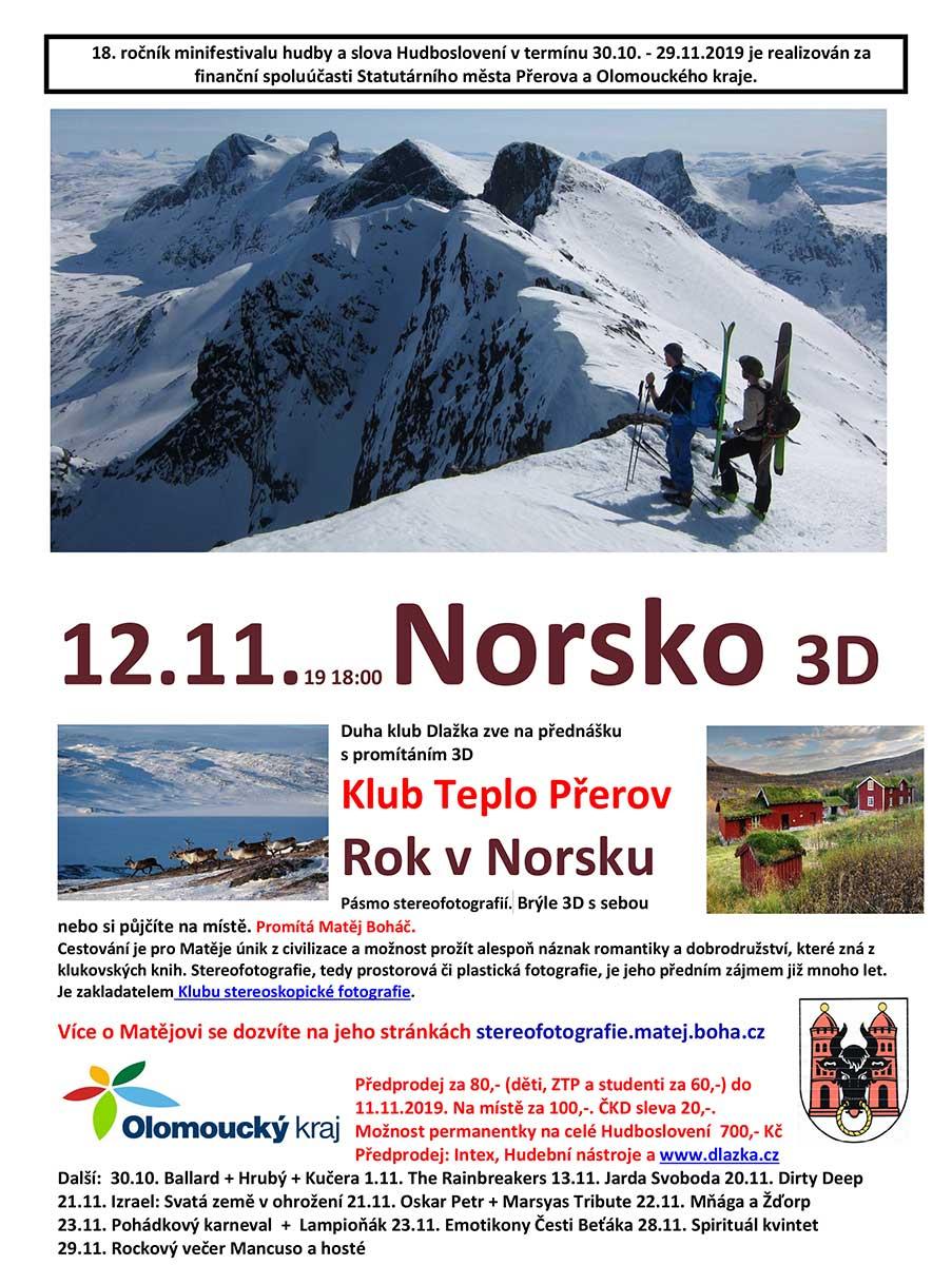 Norsko 3D
