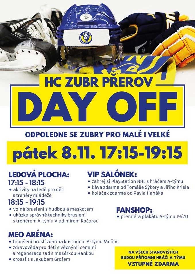 DAY OFF HC ZUBR Přerov
