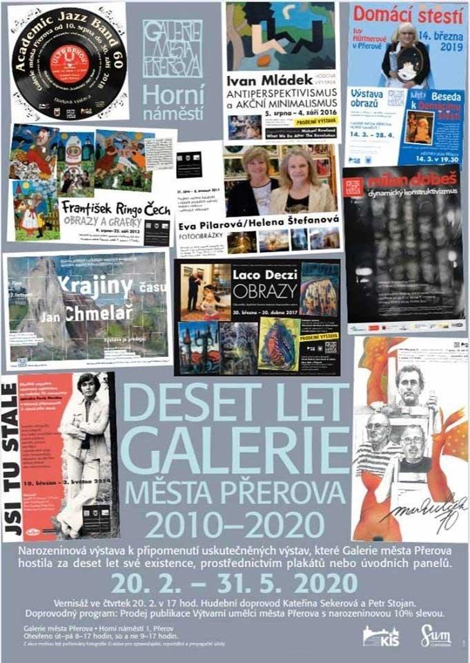 Deset let Galerie města Přerova
