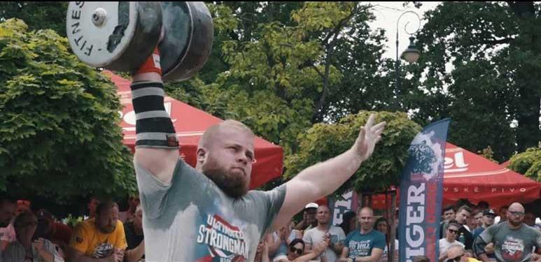 Beginner Strongman Přerov 2020
