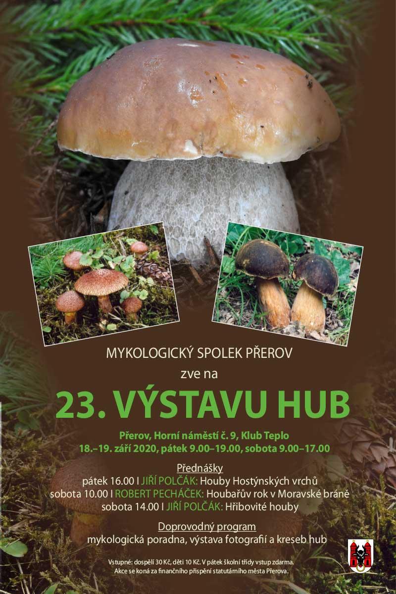 23. výstava hub v Přerově