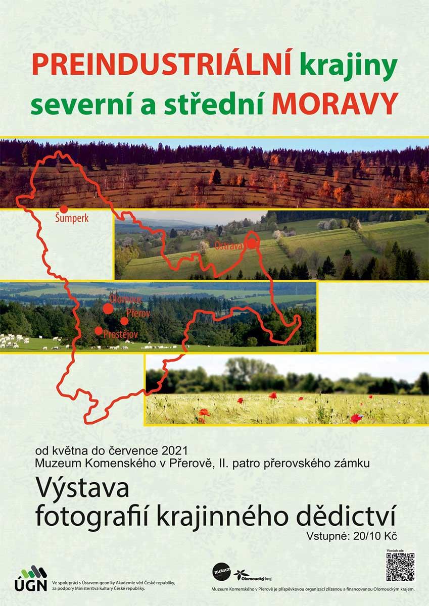 Předindustriální krajiny severní a střední Moravy