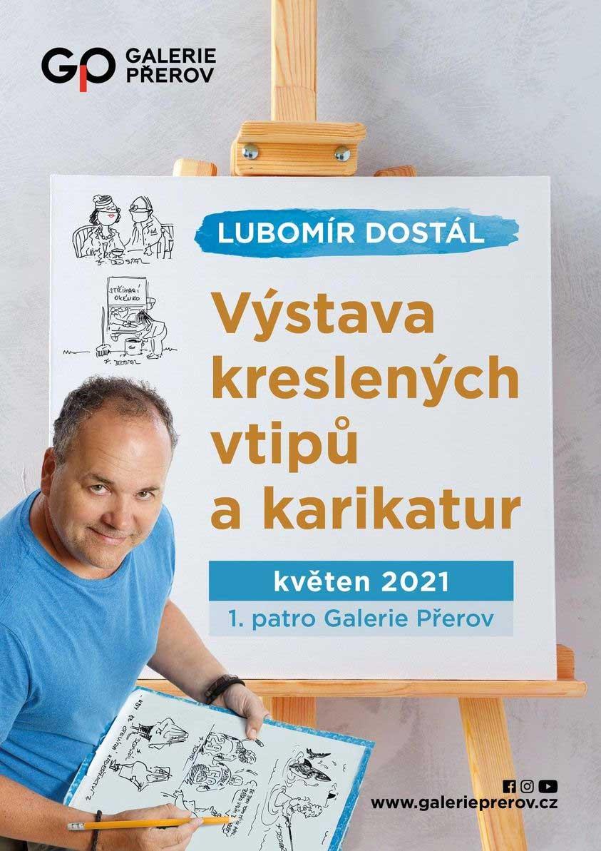Výstava kreseb Lubomíra Dostála