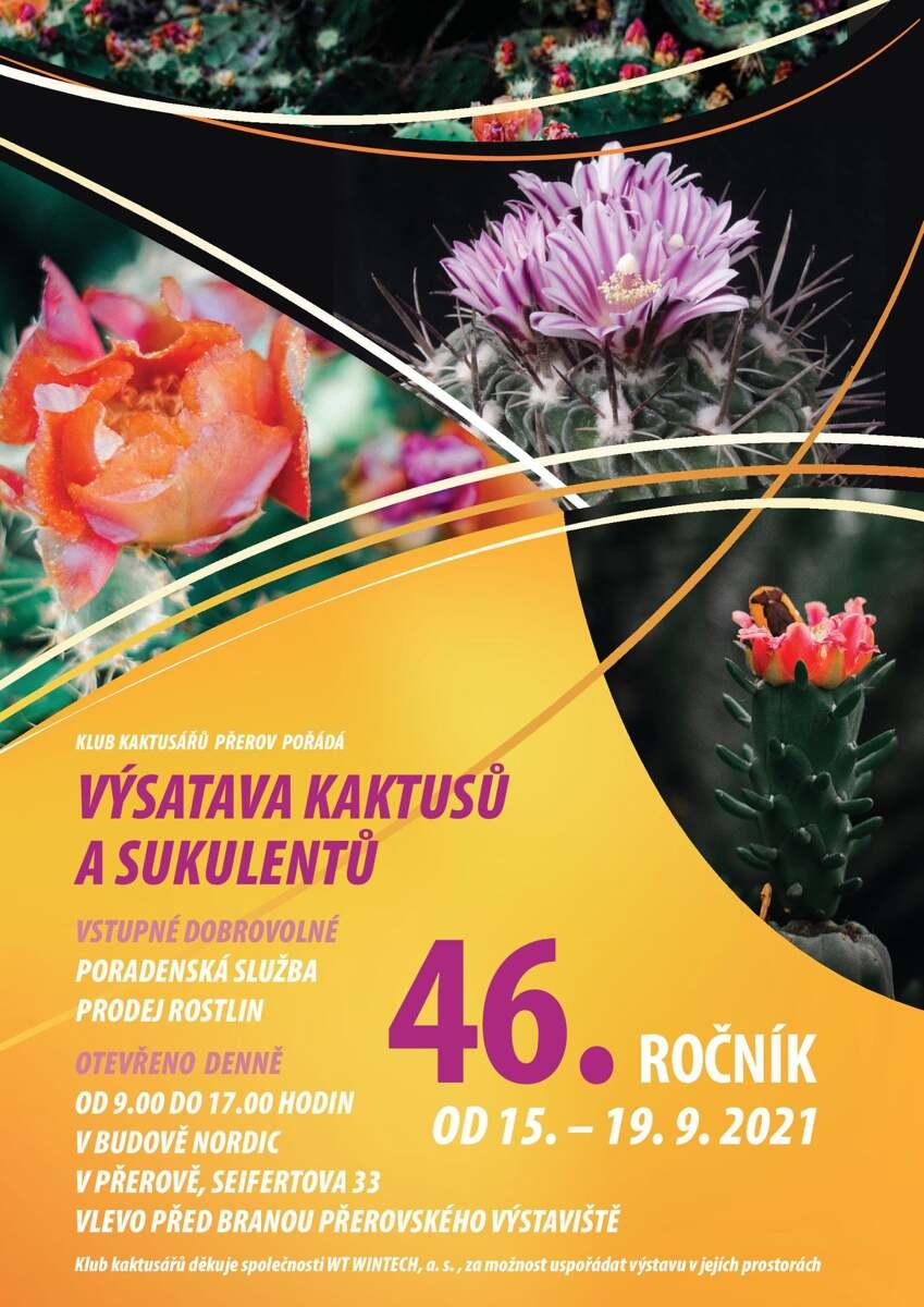 46. výstava kaktusů a sukulentů