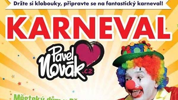 Karneval s Pavlem Novákem