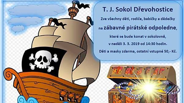 Zábavné pirátské odpoledne