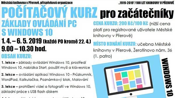 Základy ovládání PC s Windows 10 pro začátečníky