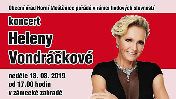 Koncert Heleny Vondráčkové