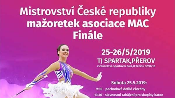 Mistrovství ČR mažoretek asociace MAC