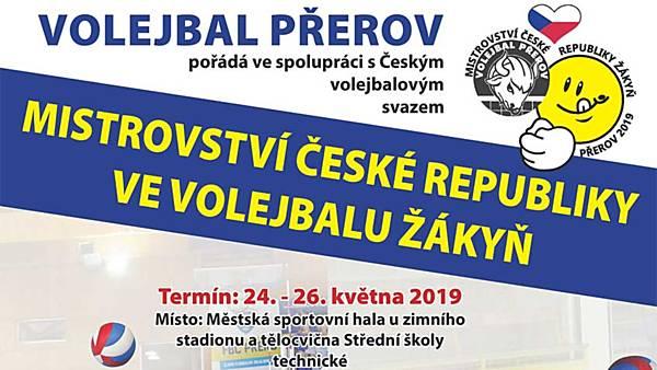 Mistrovství ČR ve volejbalu žákyň