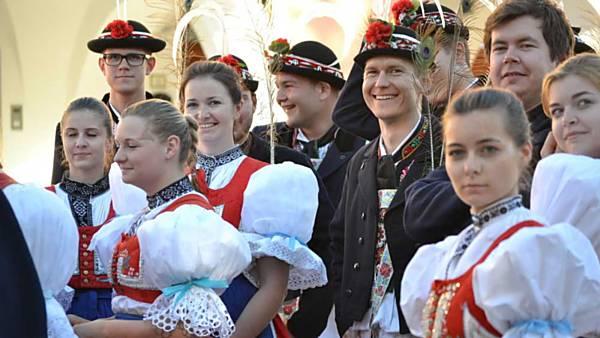 Folklorní festival V zámku a v podzámčí
