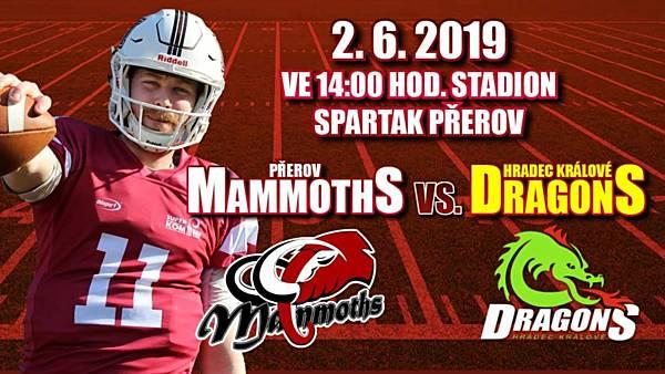 Přerov Mammoths - Hradec Králové Dragons
