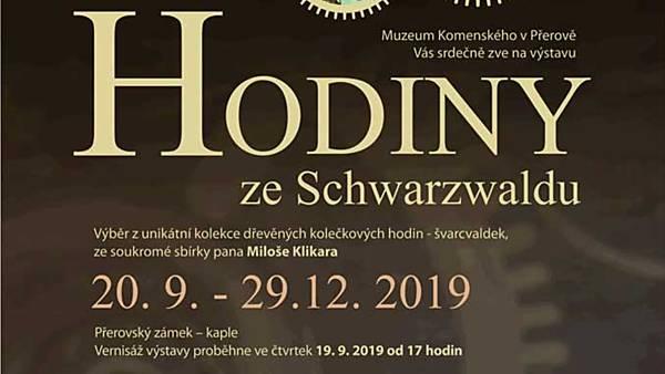 Vernisáž výstavy Hodiny ze Schwarzwaldu
