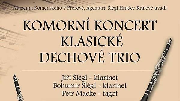 Komorní koncert klasického dechového tria