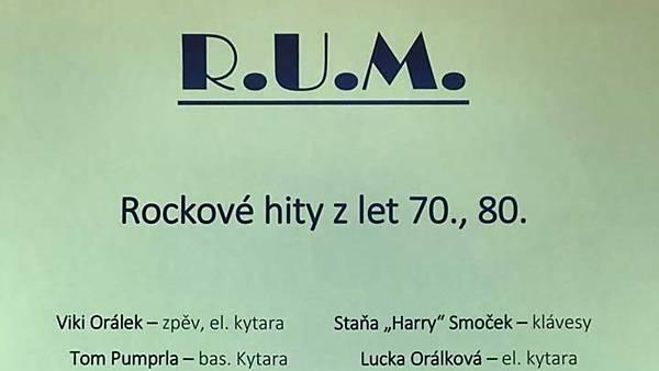 Koncert kapely R.U.M.