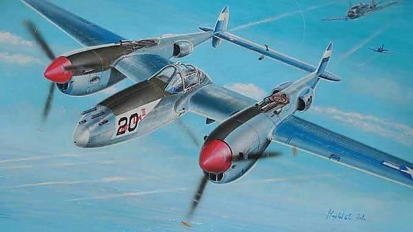 Letecká bitva nad Přerovskem