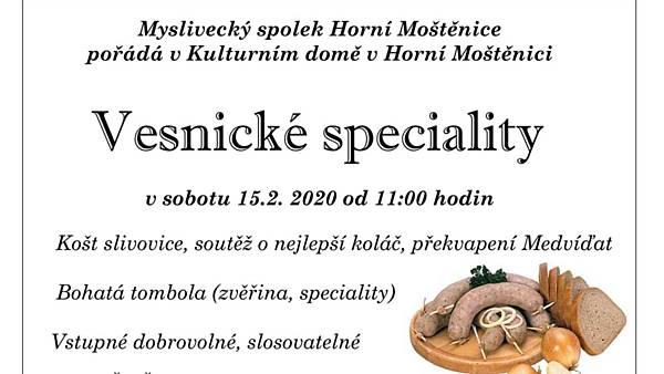 Vesnické speciality