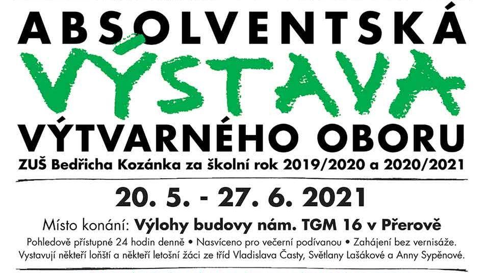 Absolventská výstava ZUŠ Bedřicha Kozánka