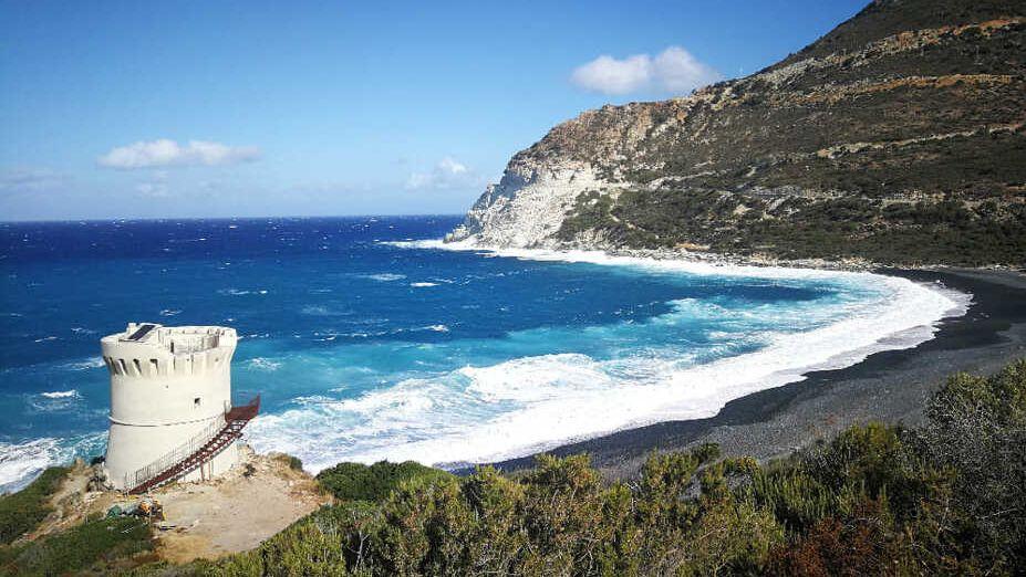 Corsica na kole na těžko