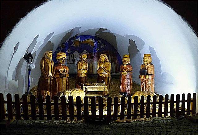 Betlém na Horním náměstí