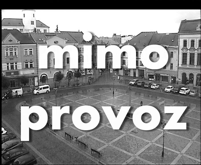 Pohled na Náměstí TGM v Přerově